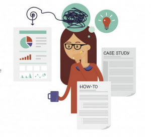 A Writing GPS: The Step-by-Step Guide to Creating Your Next Piece of Content [Infographic]