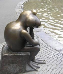 frog thinker
